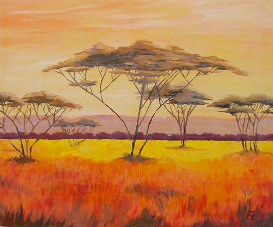 Keilrahmenbilder Afrika