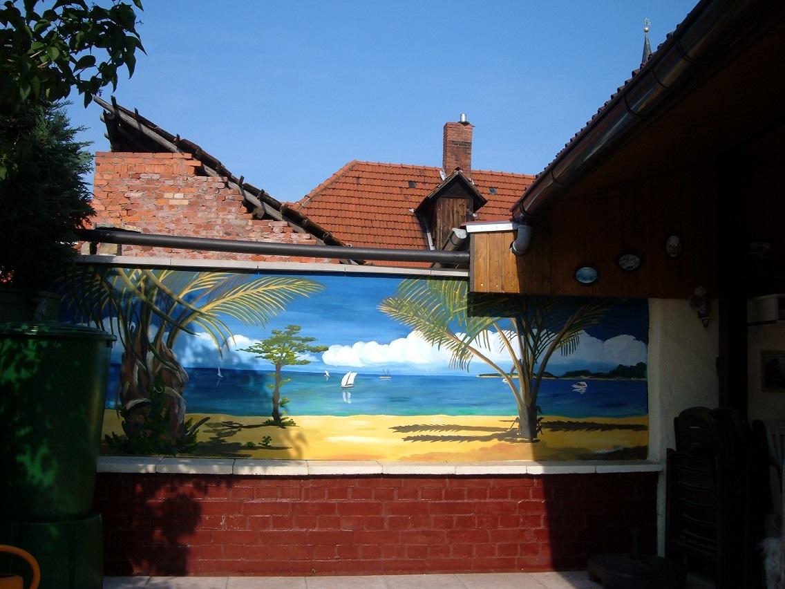 Galerie frank lex - Wandfarbe lagune ...